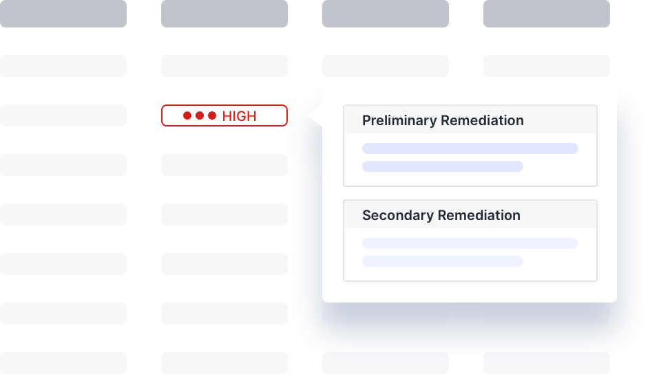 Remediation Slide Graphic